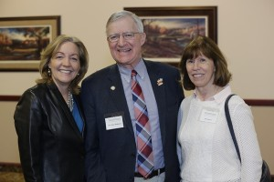 1.	KTLK radio host Sue Jeffers, Sen. Bruce Anderson, and Ruth Anderson