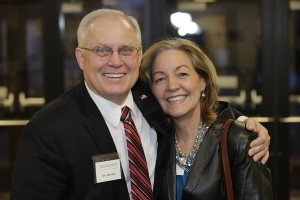 3.	Sen. Dan Hall, with Sue Jeffers