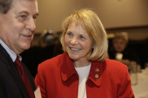 10.	former legislator Phil Krinkie with Sen. Mary Kiffmeyer