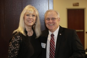 14.	Renee Doyle, with Sen. Dan Hall