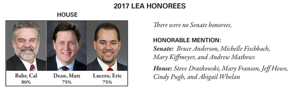 LEA 2017 report Honorees