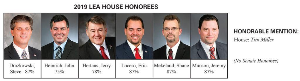 2019 LEA Honorees